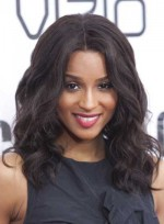 Medium, Wavy, Black Hairstyles
