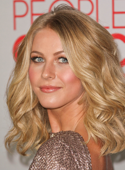 Medium romantic hairstyles for thick hair beauty riot julianne hough medium curly thick romantic blonde hairstyle urmus Choice Image