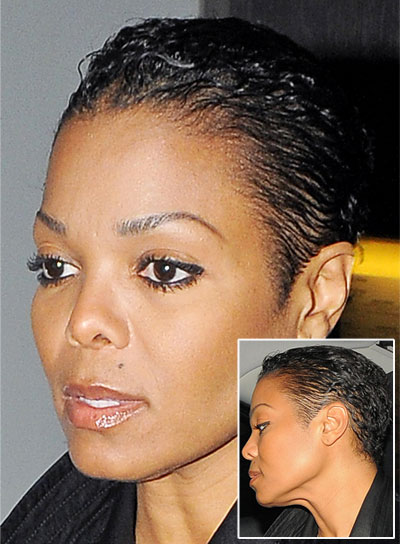 Short black hairstyles for coarse hair beauty riot janet jackson short black edgy hairstyle urmus Image collections