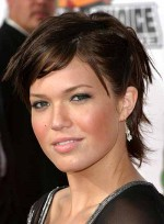 Short, Tousled Hairstyles for Round Faces