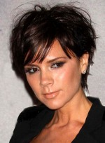 Short, Tousled Hairstyles for Square Faces