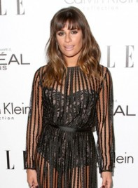 file_5635_lea-michele-sexy-brunette-wavy-hairstyle-bangs-275