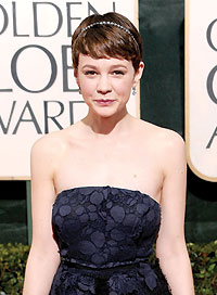Carey Mulligan Best Hairstyle for a Strapless Dress