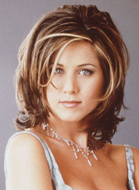 Most popular hairstyles Jennifer Aniston