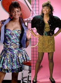 stylish on-screen students lisa turtle saved by the bell