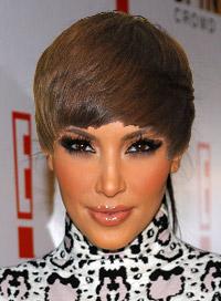 Kim Kardashian Justin Bieber hair