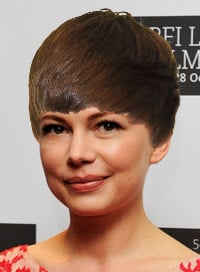 Michelle Williams Justin Bieber hair