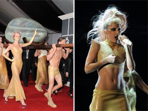grammy awards 2011 lady gaga