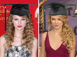 Taylor Swift Graduation Hairstyle
