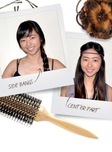8 New Ways to Style Your Bangs