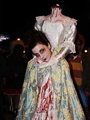 halloween costume 2011 headless corpse