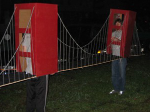 halloween costume 2011 golden gate bridge