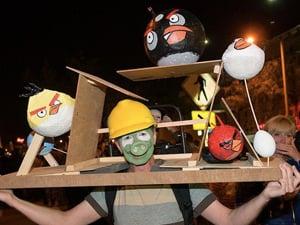 halloween costume 2011 angry birds