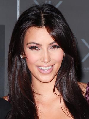 kim kardashian long hairstyle