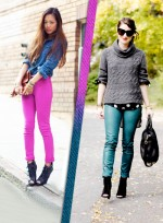 Real Girls Wear: Colored Jeans