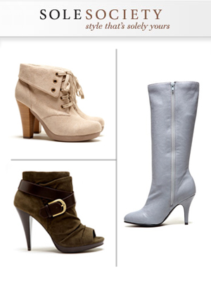 SoleSociety online shoe shopping club