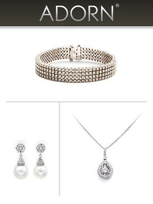 adorn an online diamond and jewelry wedding rental site
