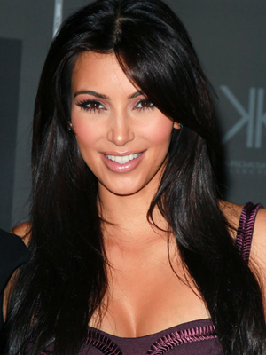 kim kardashian haircut and hairstyle