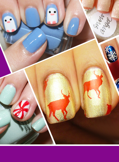 15 holiday nail ideas youve never seen beauty riot prinsesfo Choice Image