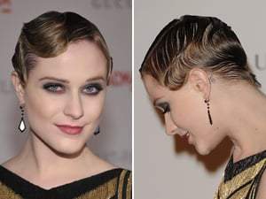 Evan Rachel Wood Finger Waves