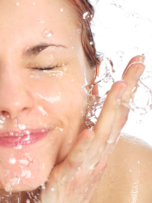 wash your face once a day skin tips