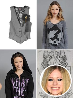 Avril Lavigne's bad fashion line Abbey Dawn