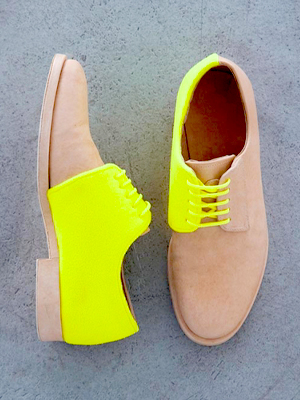 menswear-inspired shoes
