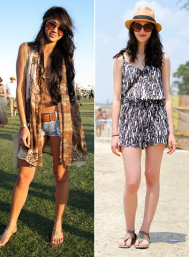 Music Festival Head-to-Toe Looks
