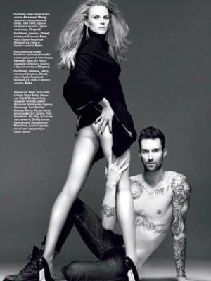 Adam Levine bad Photoshop