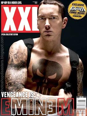 Eminem bad Photoshop