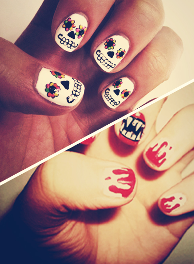 Monster mash halloween nail art beauty riot prinsesfo Images