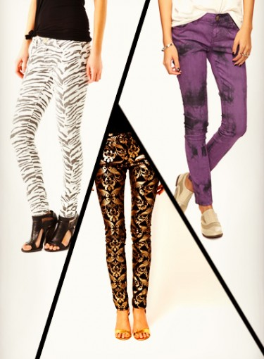 Crazy Pants! Print Jeans You'll Love