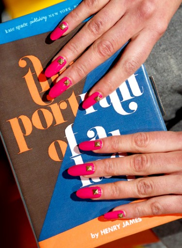 Get the Look: Kate Spade Nail Art