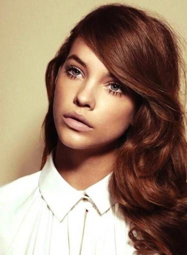 Side Swept Bangs On Long Hair Beauty Riot