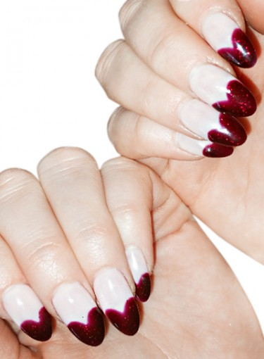 A Valentine's Day Nail Idea Straight from the Red Carpet