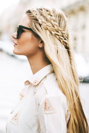 30 quick hairstyles for long hair | hair tutorials | viva la vibes.