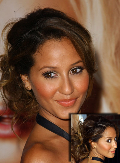 Adrienne Bailon Long, Tousled Updo