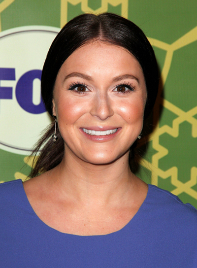 Alexa Vega Straight, Chic, Brunette Ponytail