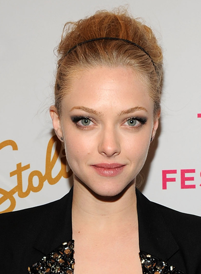 Amanda Seyfried Sexy, Edgy, Blonde Updo