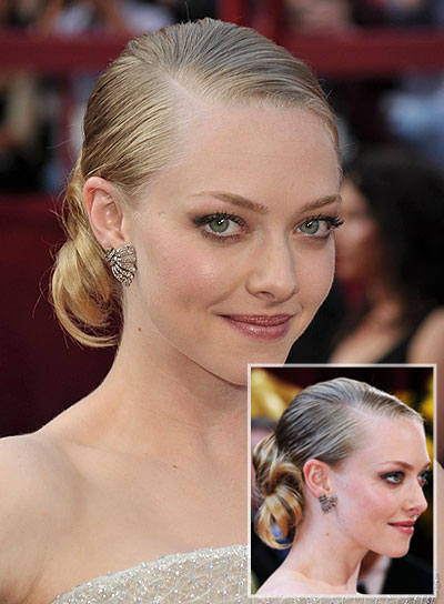Amanda Seyfried Straight, Chic Updo