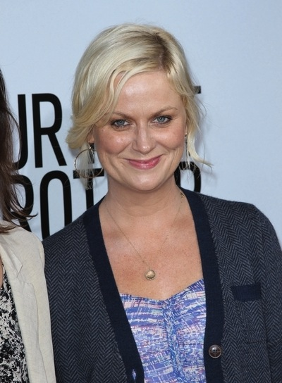 Amy Poehler Blonde, Chic Updo