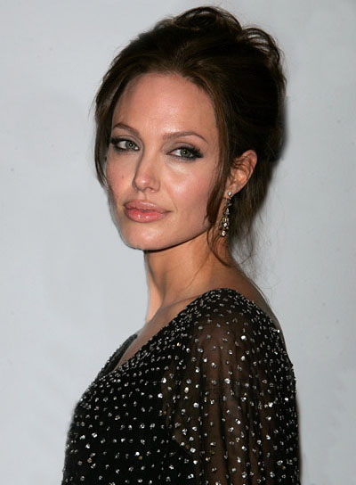 Angelina Jolie Wedding Updo