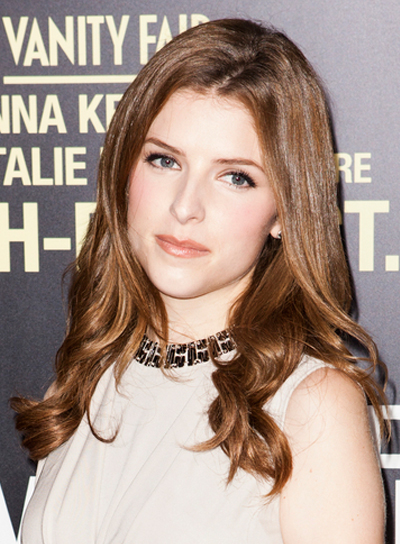 Anna Kendrick's Long, Romantic, Wavy, Brunette Hairstyle