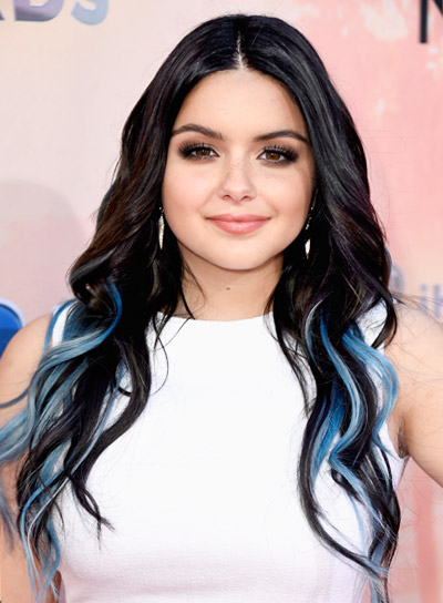 Ariel Winter with a Long, Wavy, Edgy, Party Hairstyle Pictures