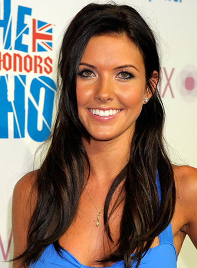 Audrina Patridge Long, Brunette Half Updo