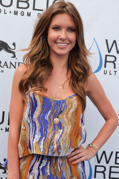 Audrina Patridge's Long, Layered, Wavy, Party Hairstyle