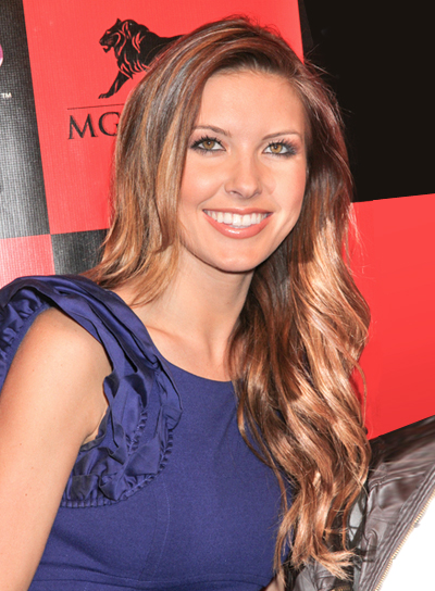 Audrina Patridge's Long, Wavy, Romantic, Chic Hairstyle