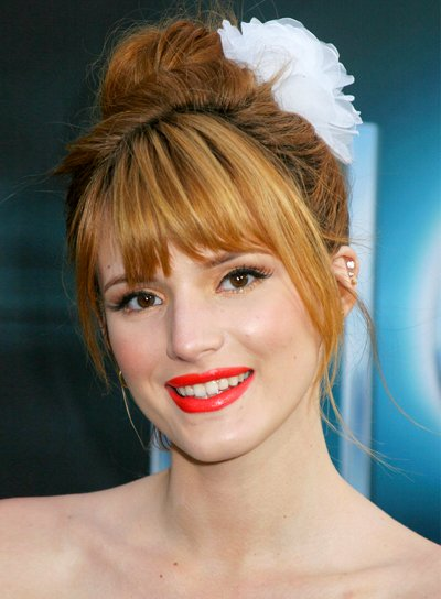 Formal hairstyles with bangs beauty riot bella thornes romantic formal updo hairstyle with bangs urmus