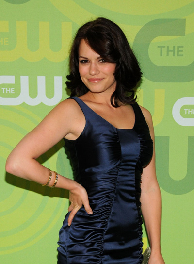 Bethany Joy Lenz Medium, Brunette Hairstyle with Bangs