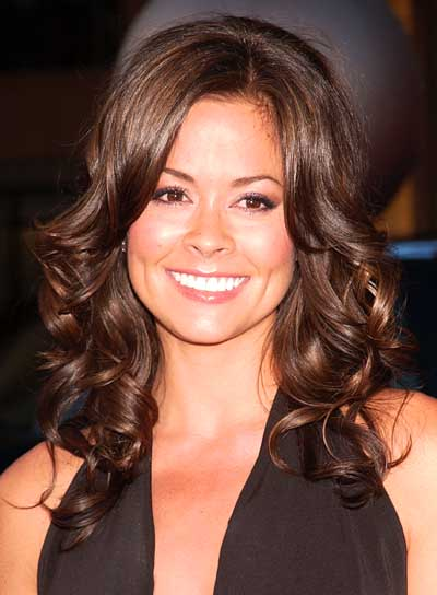 Brooke Burke Romantic, Curly Hairstyle